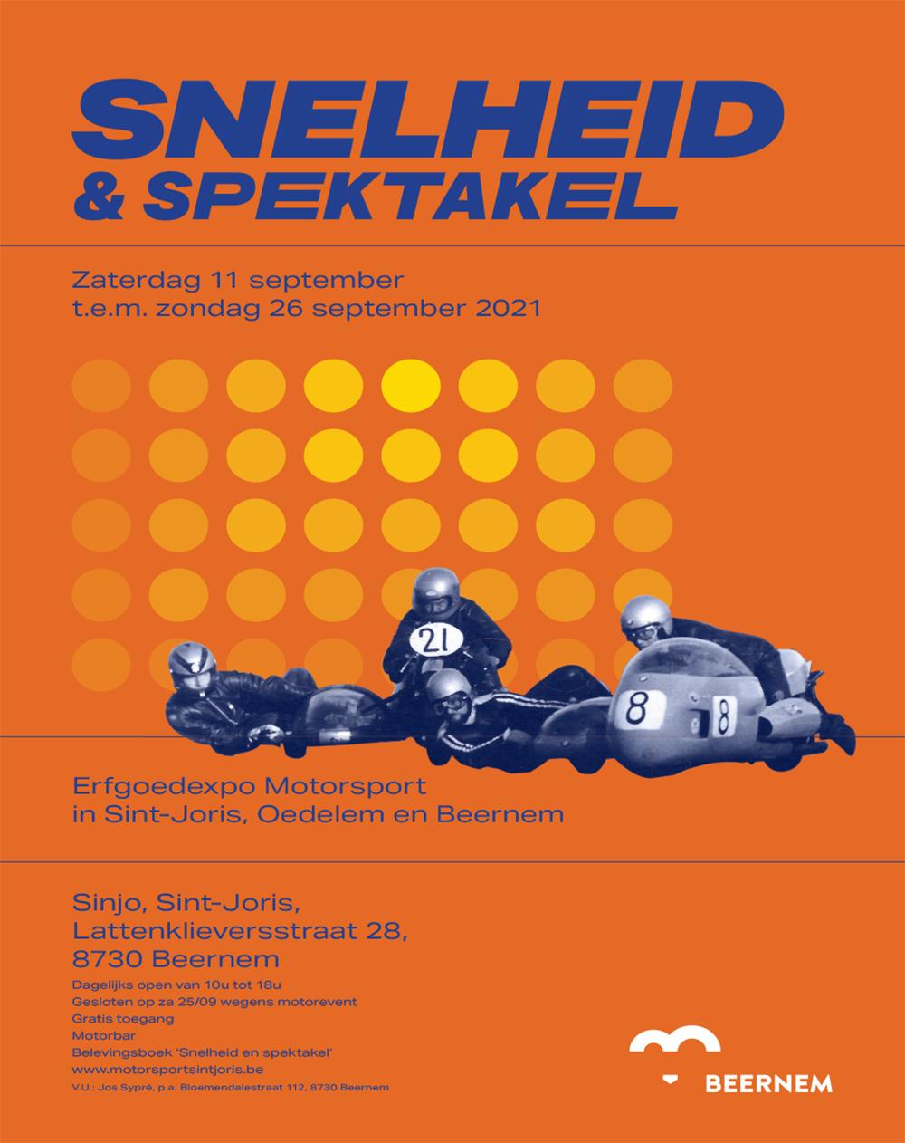 Affiche Snelheid & Spektakel